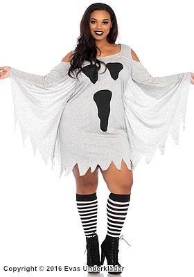 Mysig spök-klänning, maskeradklänning